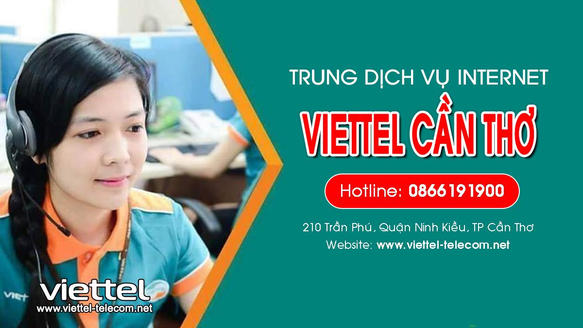 Viettel Cần Thơ - Tổng đài lắp mạng Internet và Truyền hình ViettelTV
