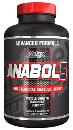 nutrex research anabol 5 anabolic amplifier 120 caps