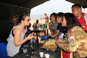 Pasukan Garuda Monusco Kenalkan Kebudayaan Indonesia di Kongo