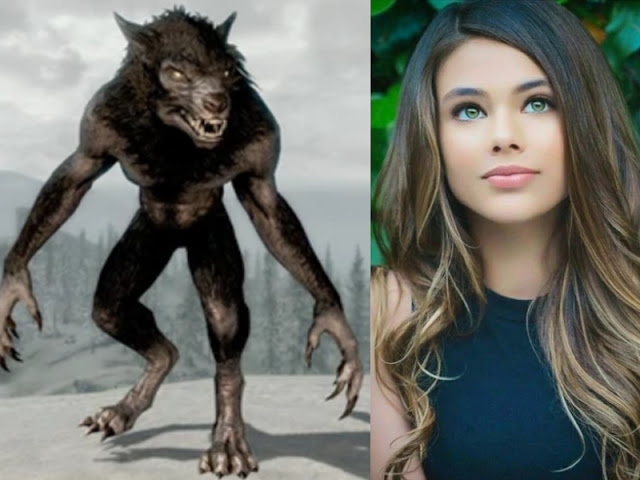 The werewolf and the young lady-- English short stories 2021