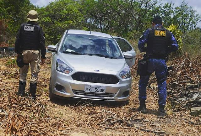Guarda de Socorro recupera veículo roubado