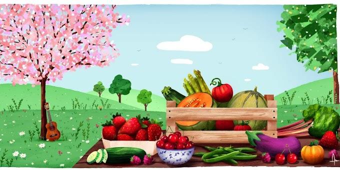 Junio: sus frutas y verduras