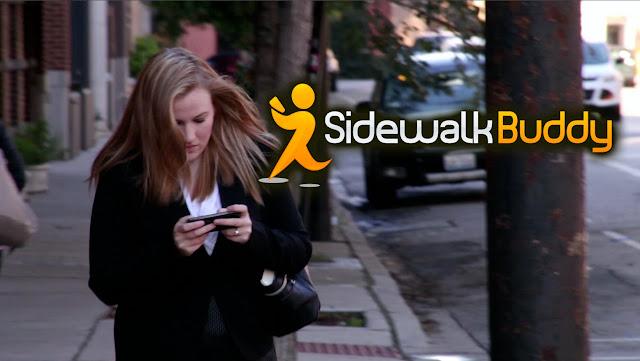 حمل تطبيق Sidewalk Buddy لهواتف الأندرويد , Sidewalk Buddy apk , عالم التقنيات , بسام خربوطلي , تطبيق مهم جدا للمدمنين لرؤية الشارع أثناء العمل على الهاتف الذكي كي لا تصتدم بأحد , بتشغيل كاميرة هاتفك بينما تمشي في الشارع على نافذة صغير