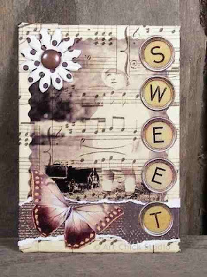 Sweet Altered Art ATC