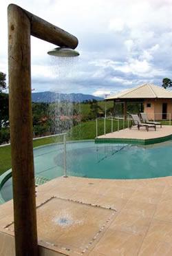 Ducha de piscina - Duchas de piscinas ...