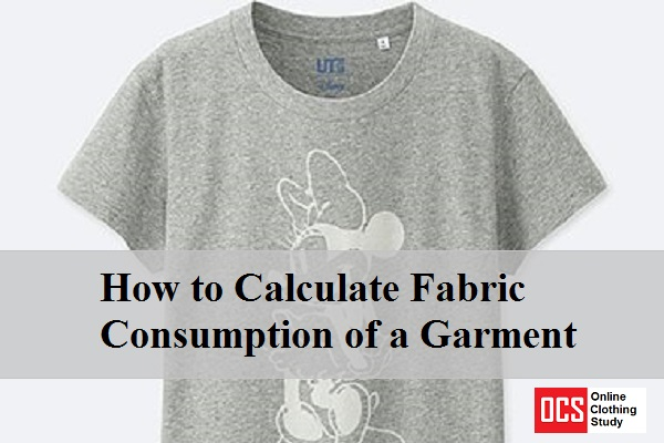 How to calculate fabric consumption of a garment online for How much is a shirt