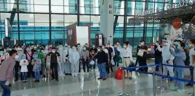 208 WN China Yang Batal Pulang Sudah Kembali Ke Daerah