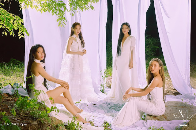 El grupo de K-Pop Mamamoo realiza su comeback con waw en 2021