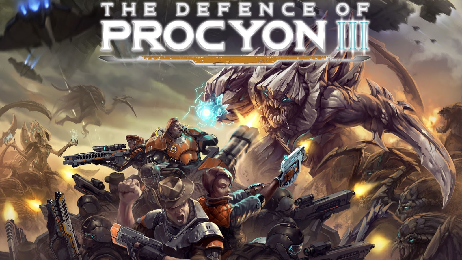 2020 Most Anticipated Games Best Kickstarters The Defence of Procyon 3 Board Game