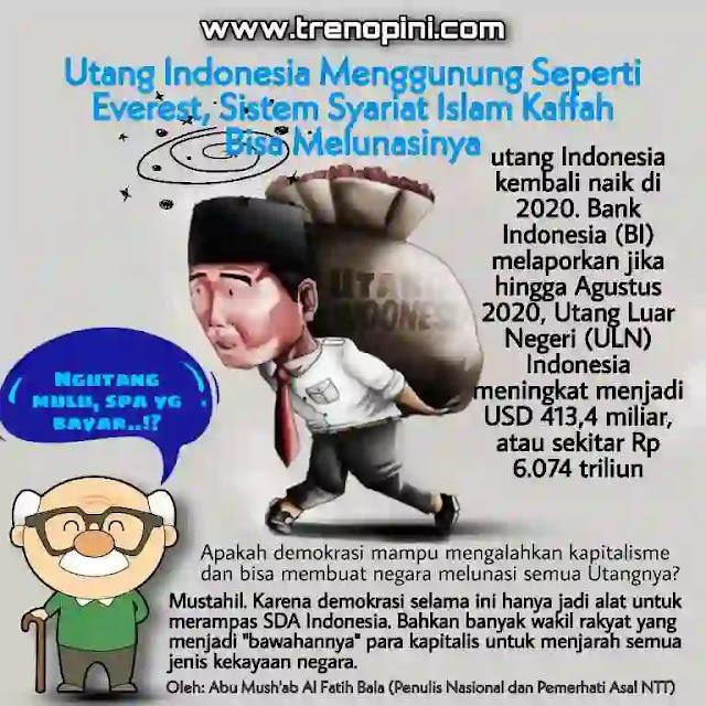 """Mustahil. Karena demokrasi selama ini hanya jadi alat untuk merampas SDA Indonesia. Bahkan banyak wakil rakyat yang menjadi """"bawahannya"""" para kapitalis untuk menjarah semua jenis kekayaan negara."""