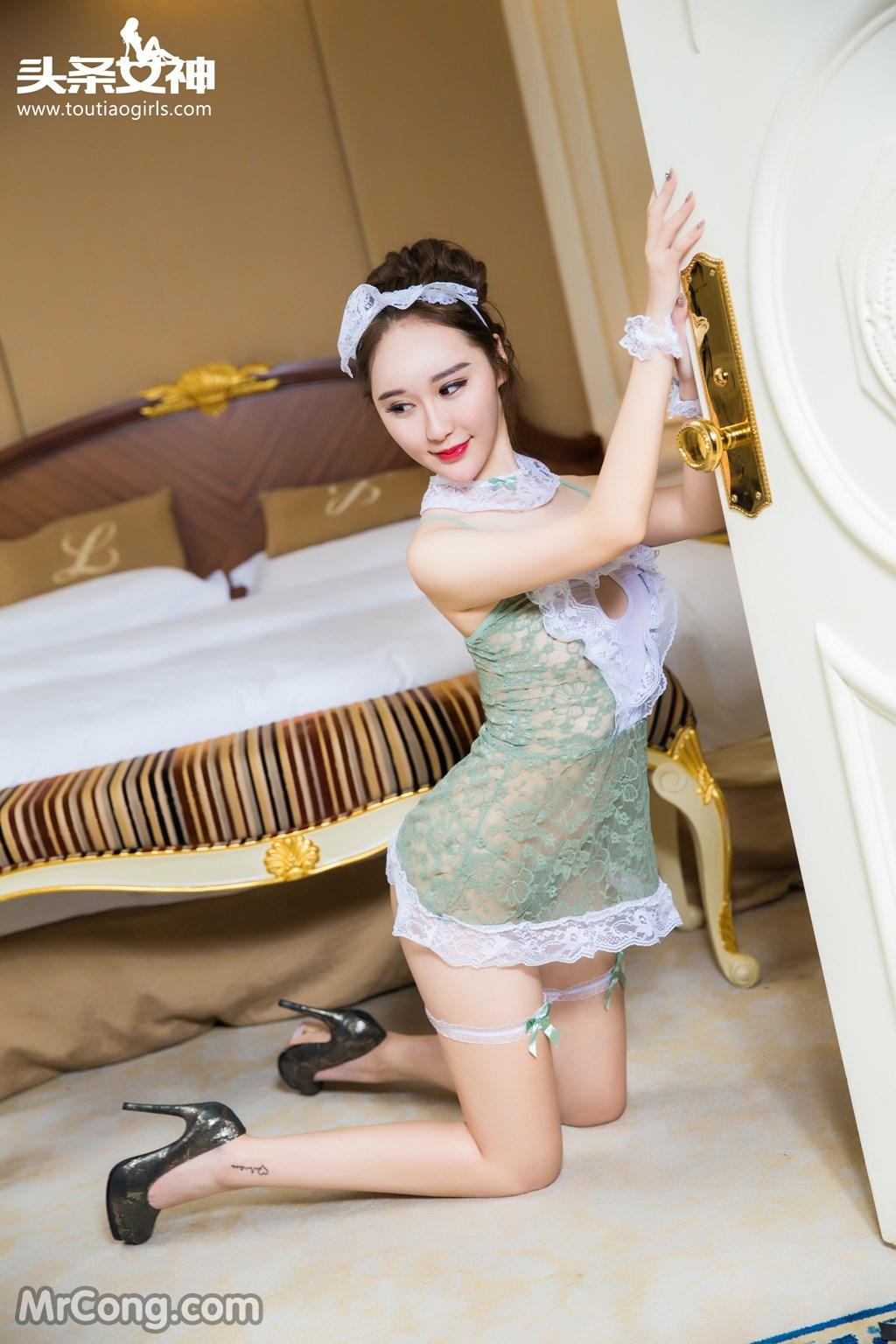 Image MrCong.com-TouTiao-2016-12-15-Wang-Yue-007 in post TouTiao 2016-12-15: Người mẫu Wang Yue (王悦) (17 ảnh)