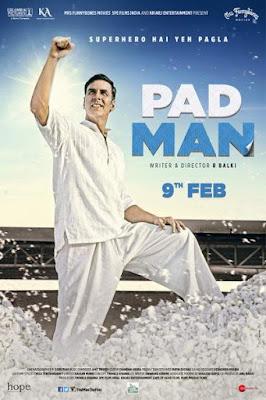 Padman 2018 Hindi 480p BluRay 400MB
