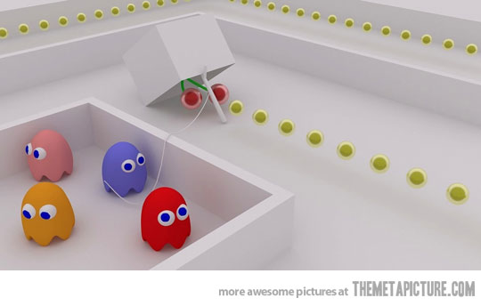 pac man trap