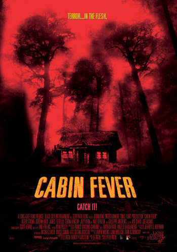 Cabin Fever 2002 Dual Audio ORG Hindi 720p BluRay 1GB movie poster