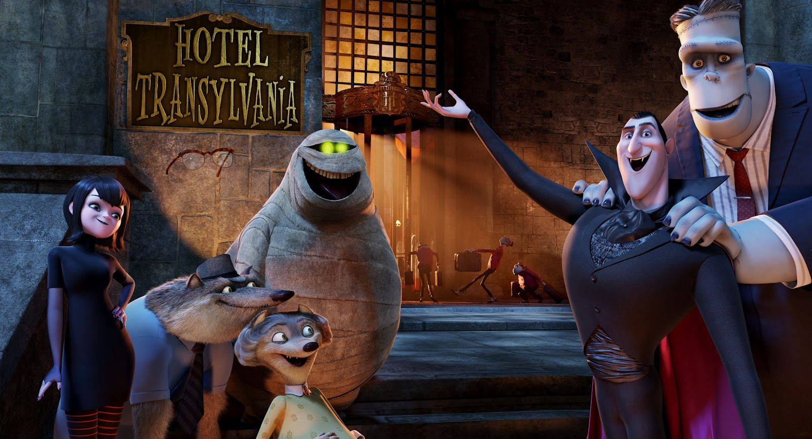 Ascending Butterfly Hotel Transylvania Movie Review At A Theater