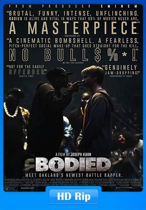 Bodied 2017 720p WEBRip x264 | 480p 300MB | 100MB HEVC Poster