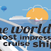 The world's most impressive cruise ships #infographic