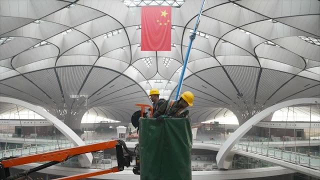 China construye el aeropuerto con la terminal más grande del mundo
