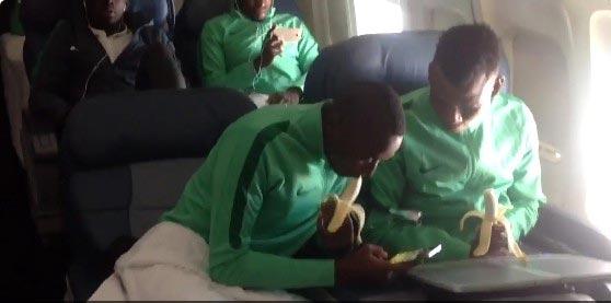 Photos of Nigeria U-23 Eagles on their way to Rio 2016 Olympics