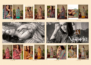 Alok Suits Noorie Pashmina  Salwar Kameez Collection