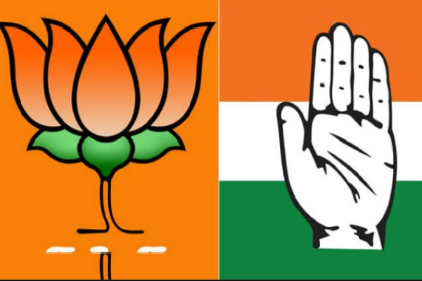 Congress lagging behind initial gains; Karnataka is in saffron; Karnataka, Khalega Kamal