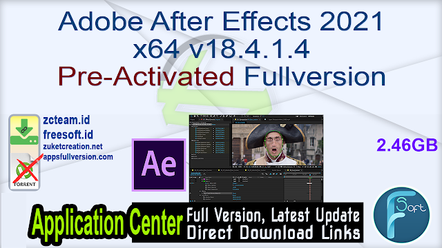 Adobe After Effects 2021 x64 v18.4.1.4 Pre-Activated Fullversion
