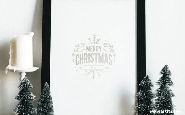 happy christmas images cartoon