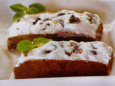 Resep Kue Cake Green Tea Blueberry