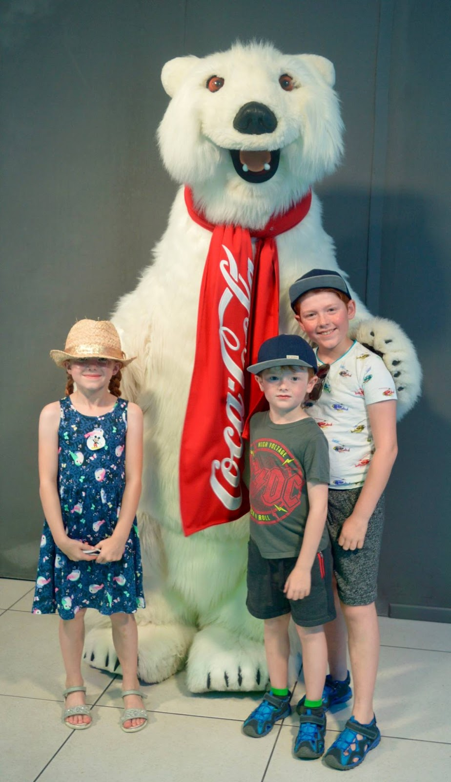 11 Things to do with Kids at Disney Springs Orlando, Florida - Coca-Cola Bear