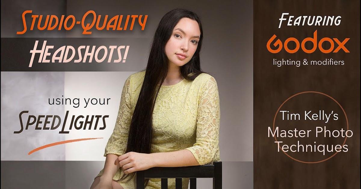 USE SPEEDLIGHTS for Studio-Quality Headshots!