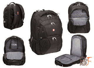 SwissGear SA1908 ScanSmart Backpack black model, Best SwissGear Backpacks