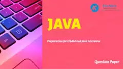 100% FREE Java Exam Practice Questions from Paper Analysis