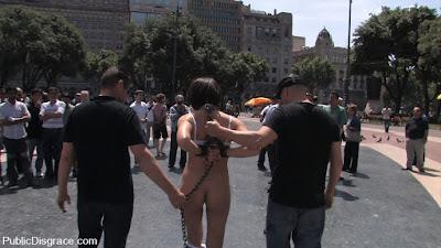 barcelona bdsm public disgrace