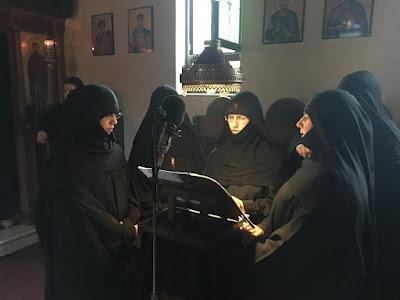 Προηγιασμένη Θεία Λειτουργία στο Ιερόν Μετόχιον της Ζωοδόχου Πηγής Μοδίου.