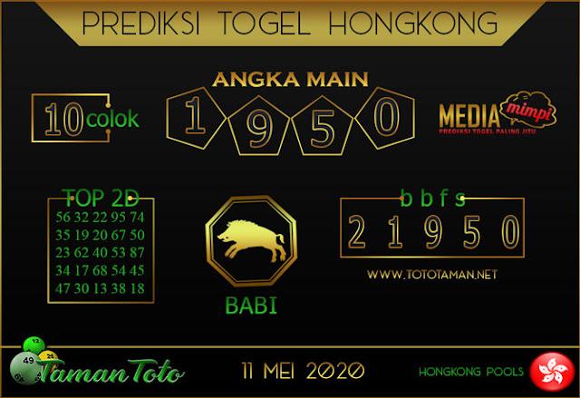 Prediksi Togel HONGKONG TAMAN TOTO 11 MEI 2020