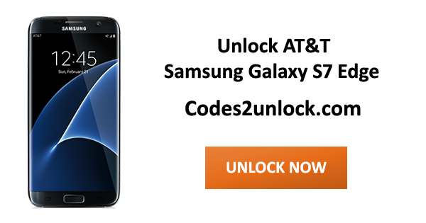 code to unlock samsung galaxy s7 edge