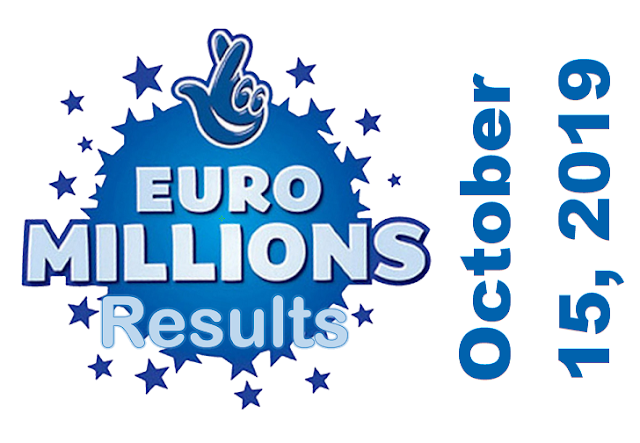 EuroMillions Results for Tuesday, October 15, 2019