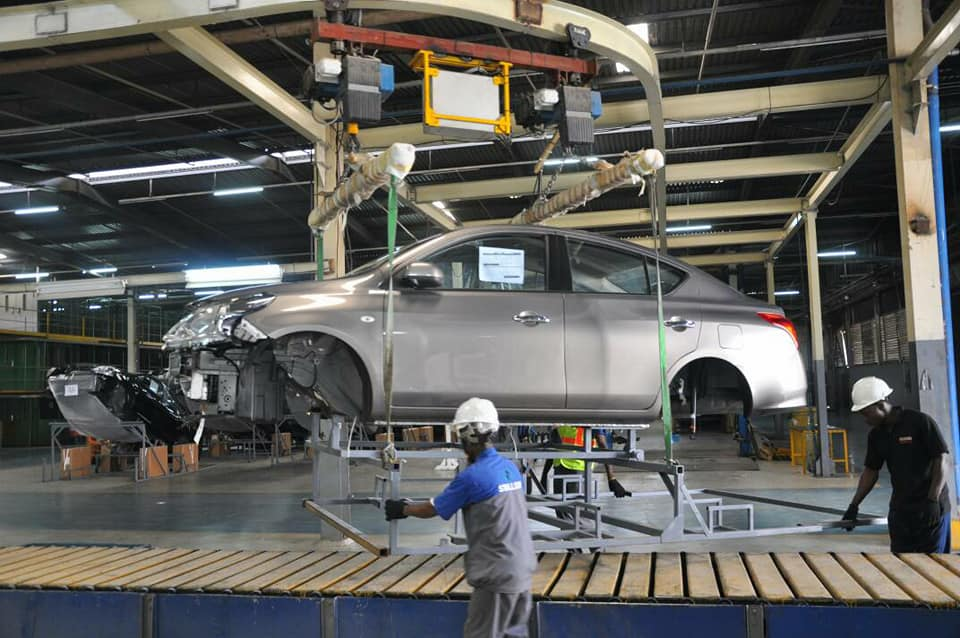 Nissan To Collaborate with NADDC, Unveils Its 380-Hectare Plant in Lagos - Photos