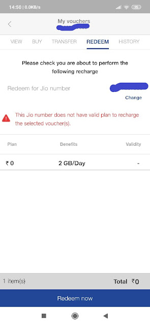 Jio Vouchers Now Transfer to any Number