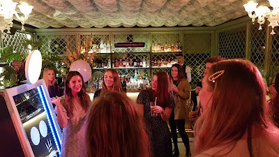 Pandora Millie Bobby Brown Event at The Ivy Manchester PR's addressing the crowd