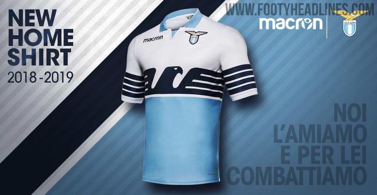 347d7635ef6 What do you think of the Lazio 2018-19 kits by Macron  Drop us a line  below