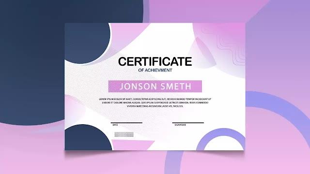 How to Design Creative Certificate Design   Adobe Photoshop Tutorial