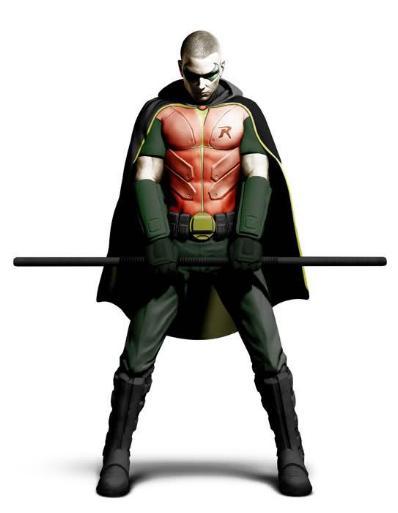 Red Robin Batman Arkham City