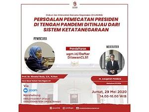 Disebut Makar, Seminar Pemecatan Jokowi Tetap Digelar?