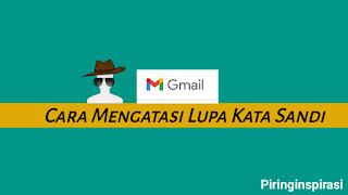 Lupa kata sandi akun email gmail google