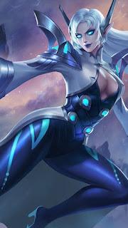 Eudora Lightning Sorceress Heroes Mage of Skins Rework V3
