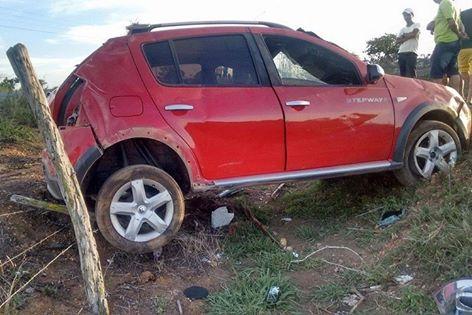 Ex-vereador de Canindé de São Francisco/SE, sofre acidente na Rota do Sertão