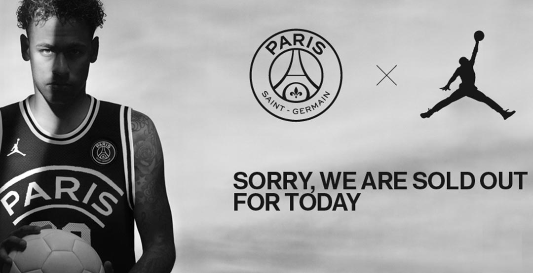 c604749a5ff Already SOLD OUT? Jordan x PSG Collection Launched - Footy Headlines