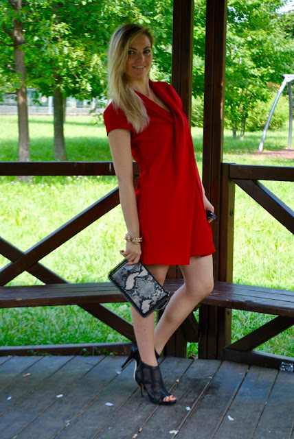outfit abito rosso red dress outfit luglio 2016 outfit estivi blogger style outfit estivi blogger mariafelicia magno fashion blogger colorblock by felym web influencer summer outfits july outfits
