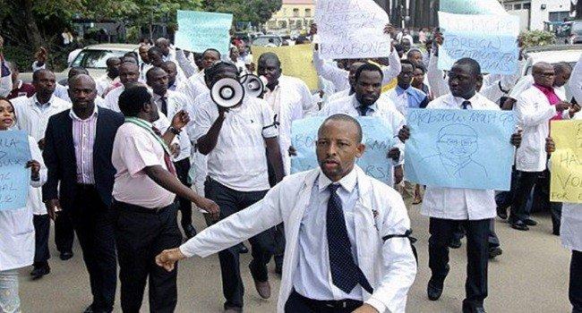 Image result for Again, health workers begin indefinite strike